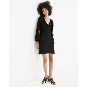 Madewell | NWT Long Sleeve Side-Tie Wrap Dress